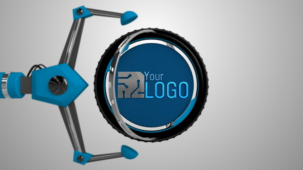 Mechanical Arms Logo - Download Videohive 20270398