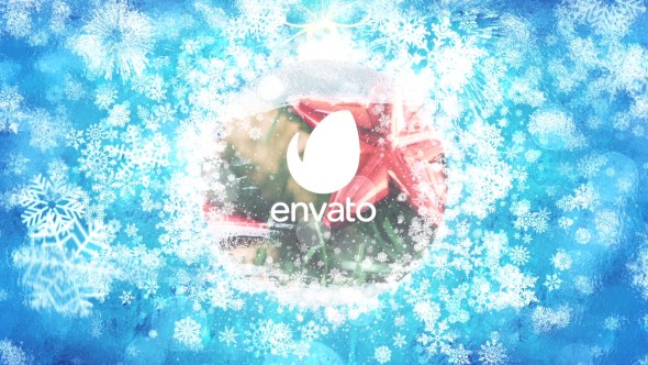 Merry Christmas Celebration Logo - Download Videohive 19011959