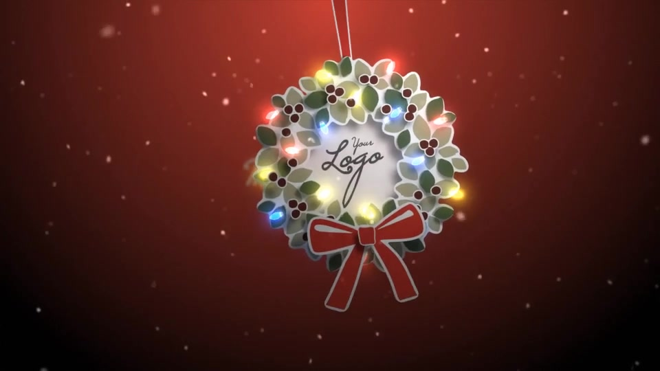 Merry Christmas Wreath - Download Videohive 19105685