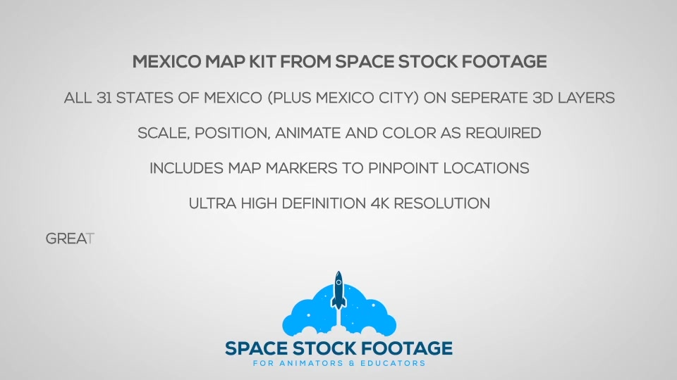 Mexico Map Kit - Download Videohive 18255754