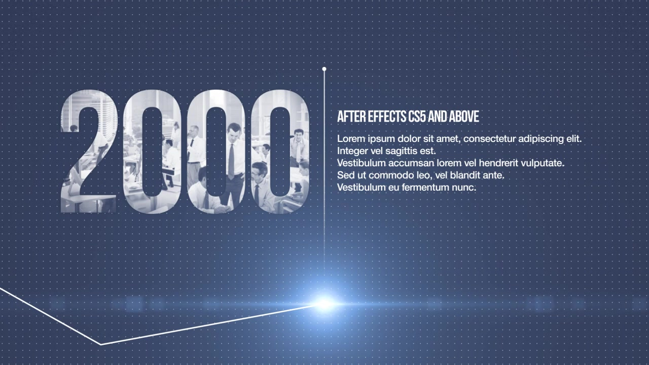 Minimal Corporate Timeline - Download Videohive 18918949