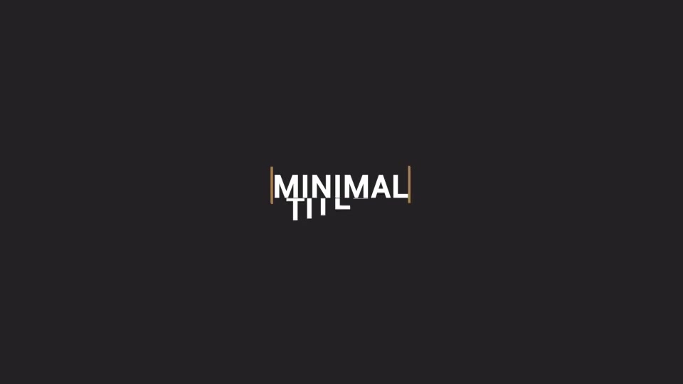 Minimal Titles Pack - Download Videohive 15845631