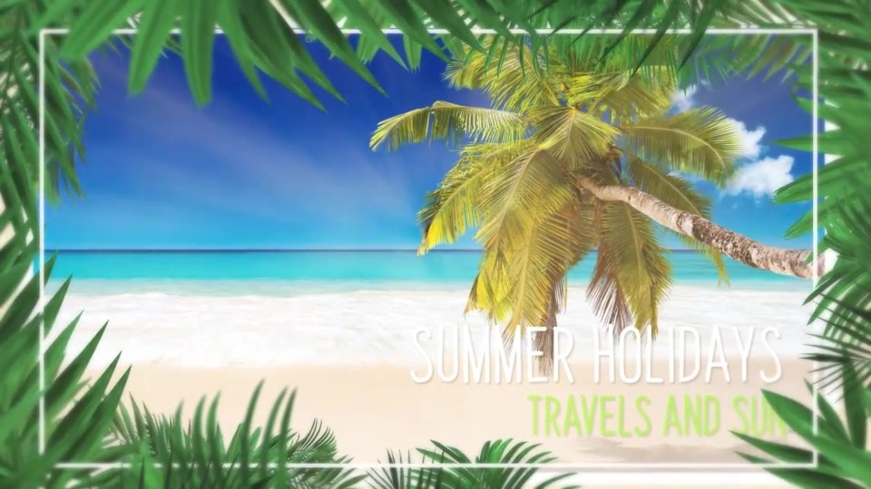 Minimal Tropical Slideshow Videohive 25855642 After Effects Image 11