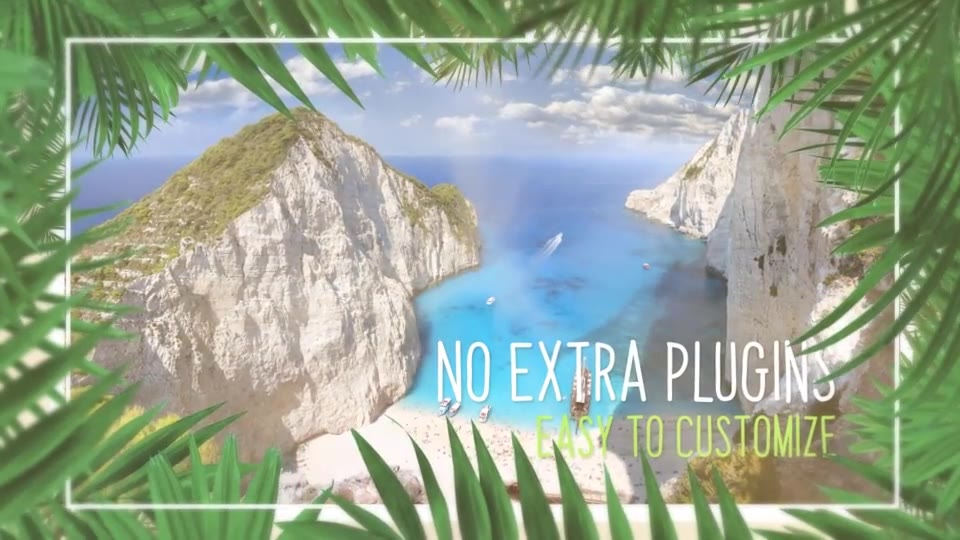 Minimal Tropical Slideshow Videohive 25855642 After Effects Image 3