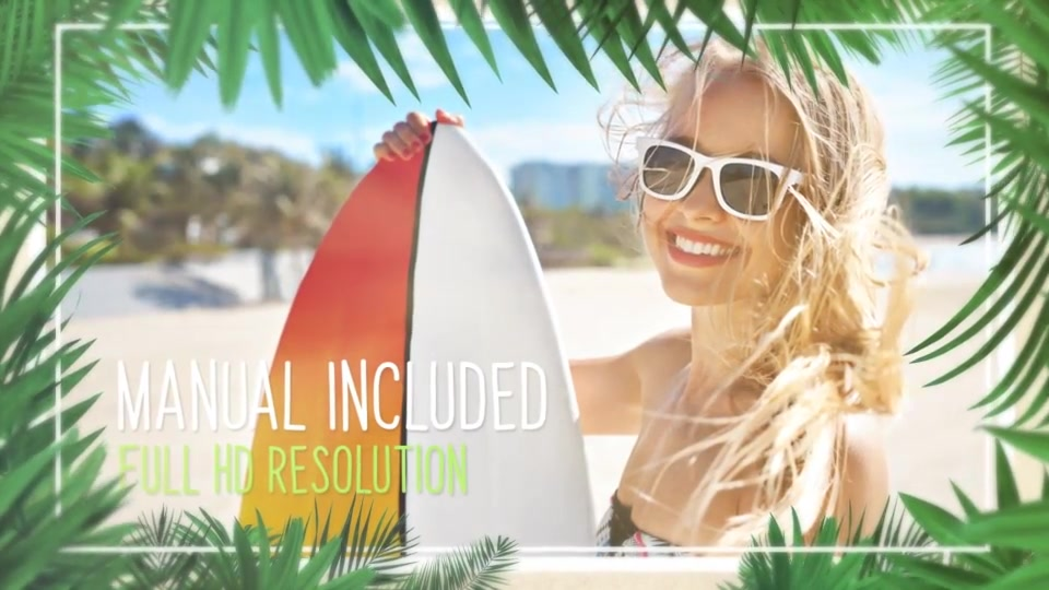Minimal Tropical Slideshow Videohive 25855642 After Effects Image 4