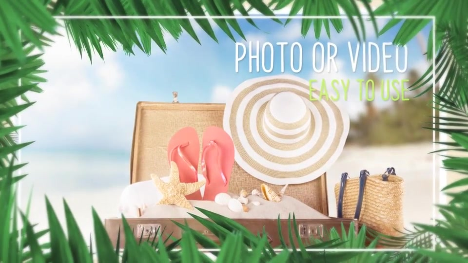 Minimal Tropical Slideshow Videohive 25855642 After Effects Image 5