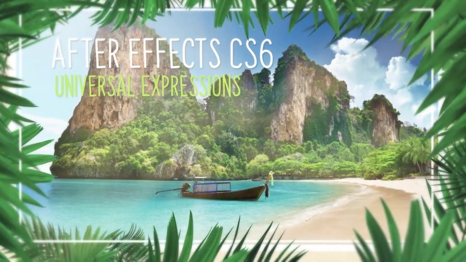 Minimal Tropical Slideshow Videohive 25855642 After Effects Image 6