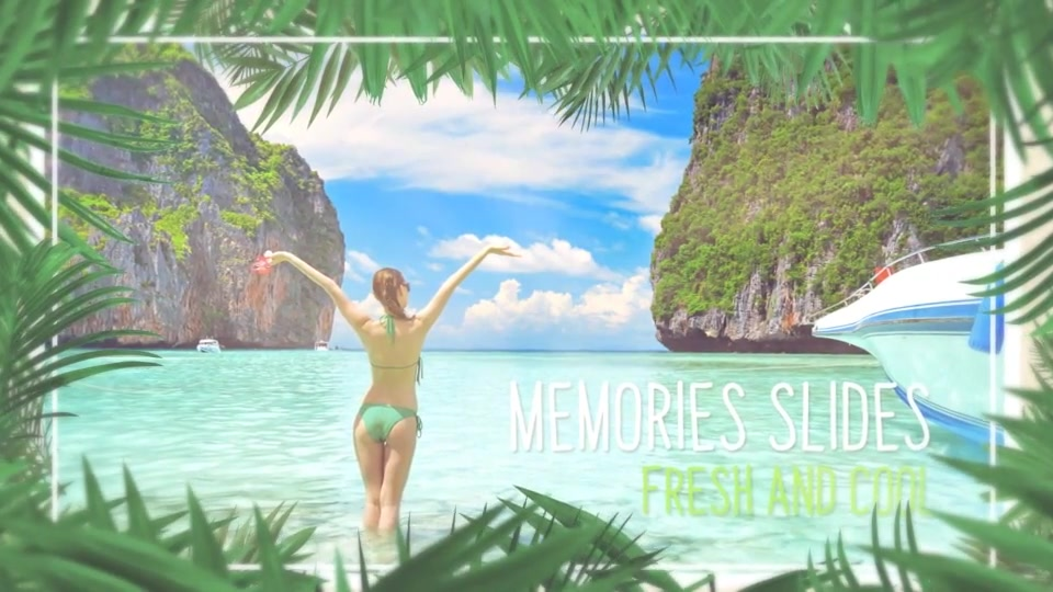 Minimal Tropical Slideshow Videohive 25855642 After Effects Image 7