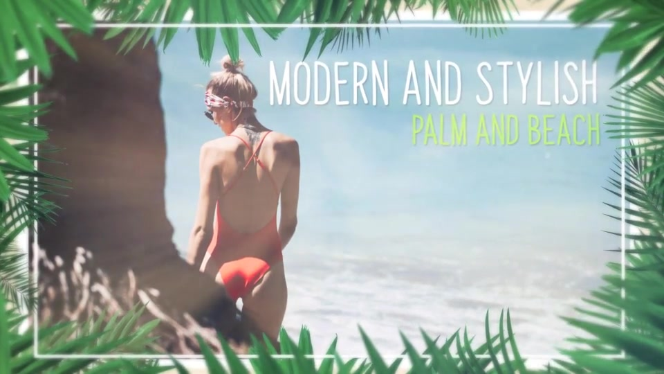 Minimal Tropical Slideshow Videohive 25855642 After Effects Image 9