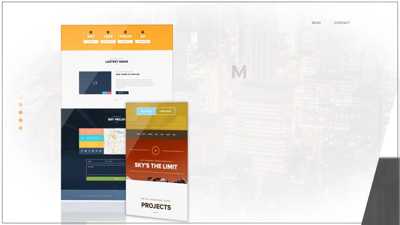Minimal Website Promo - Download Videohive 20409861