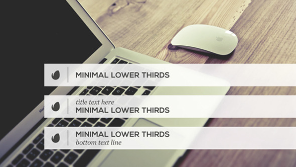 minimalist lower thirds template download videohive 9798888