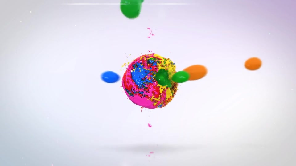 Mixing Paints Logo Reveal - Download Videohive 19791557