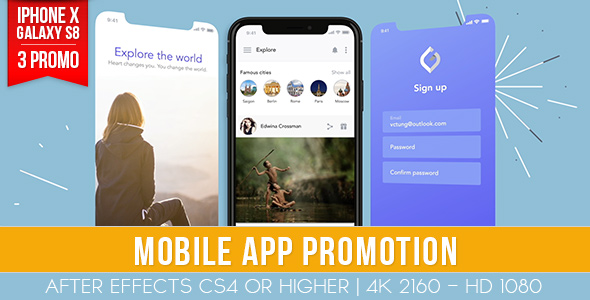 Mobile App Promotion - Download Videohive 20968349