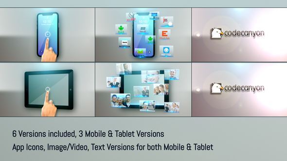 Mobile Tablet Apps Promo - Download Videohive 7907026