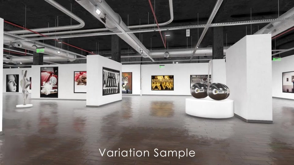 Modern Art Gallery 3D v2.1 - Download Videohive 15929195