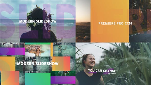 Modern Dynamic Slideshow MOGRT - Download Videohive 26036239