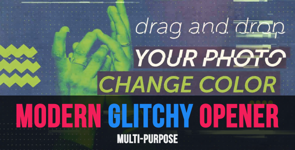 Modern Glitchy Opener - Download Videohive 17303615