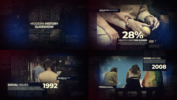 Modern History Slideshow - Download Videohive 22563115