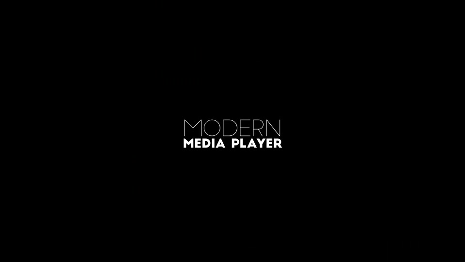 Modern Media Player - Download Videohive 12790560