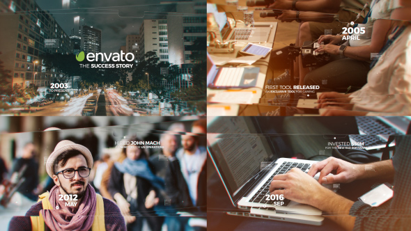 Modern Timeline Slideshow - Download Videohive 20147828