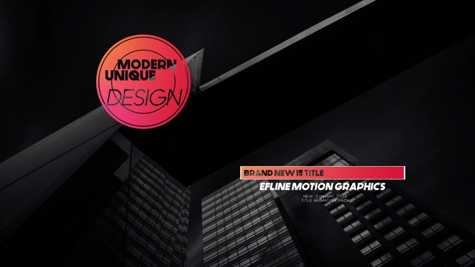 Modern Titles - Download Videohive 17946350