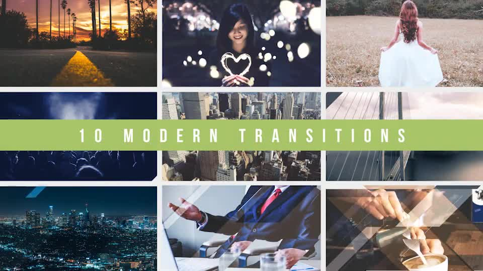 Modern Transitions 10 Pack Volume 4 - Download Videohive 19316556