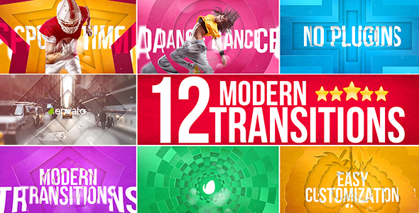 Modern Transitions - Download Videohive 15562626