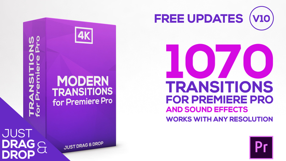 Modern Transitions | For Premiere PRO - Download Videohive 21922312
