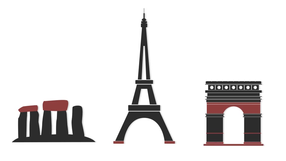 Monuments Icons - Download Videohive 10839591
