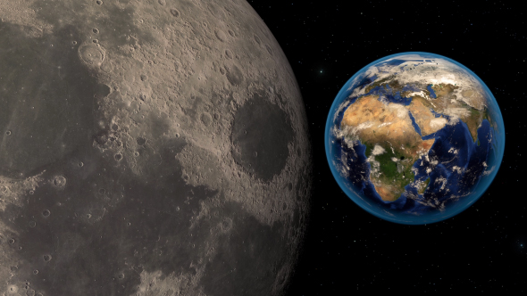 Moon and Earth - Download Videohive 20509014