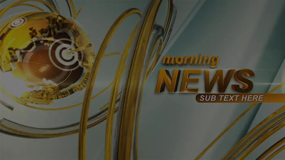 Morning News Intro Videohive 23475763 After Effects Image 12