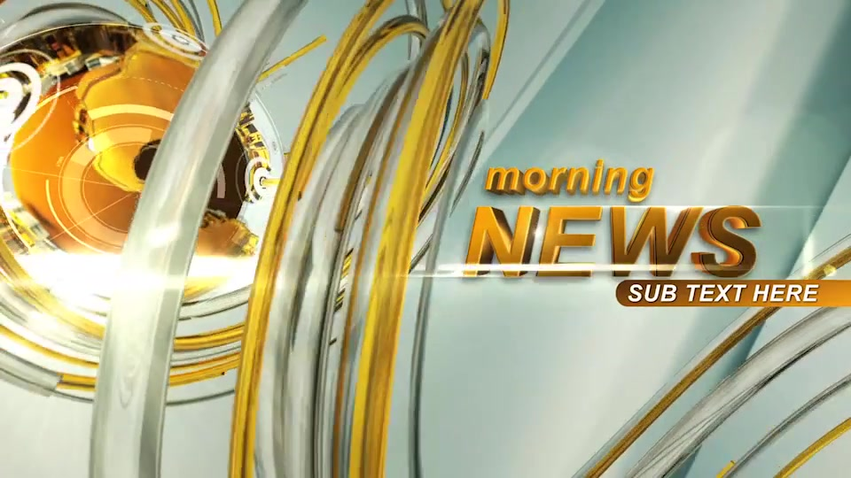 Morning News Intro Videohive 23475763 After Effects Image 4
