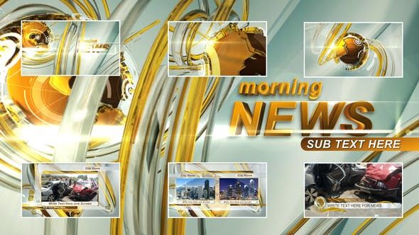 Morning News Intro - Download 23475763 Videohive