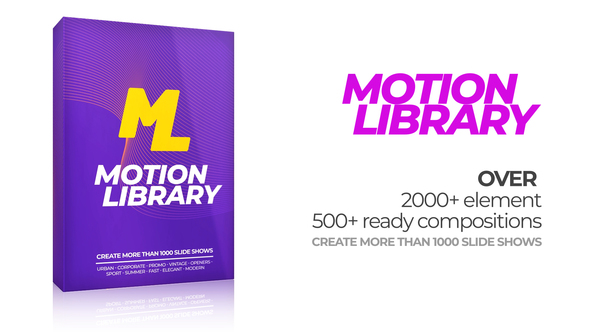 Motion Library Pack - Download Videohive 22380487