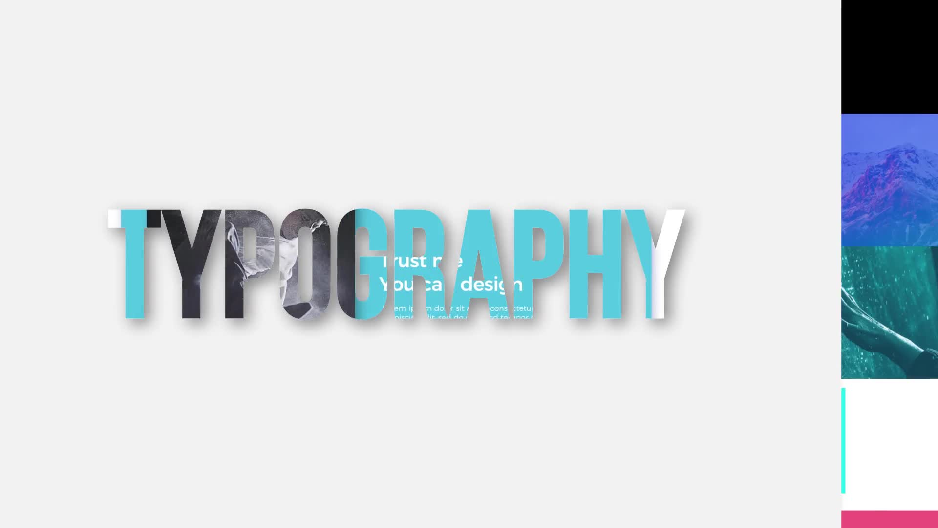 Motion Typography | FCPX - Download Videohive 22174313