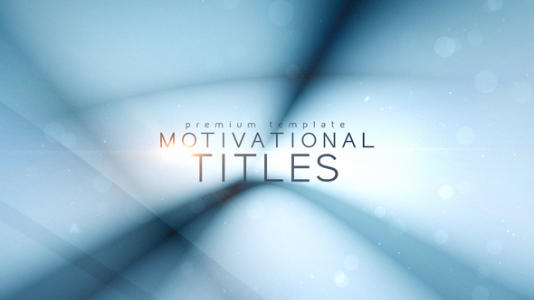 Motivational Titles - Download Videohive 21835670