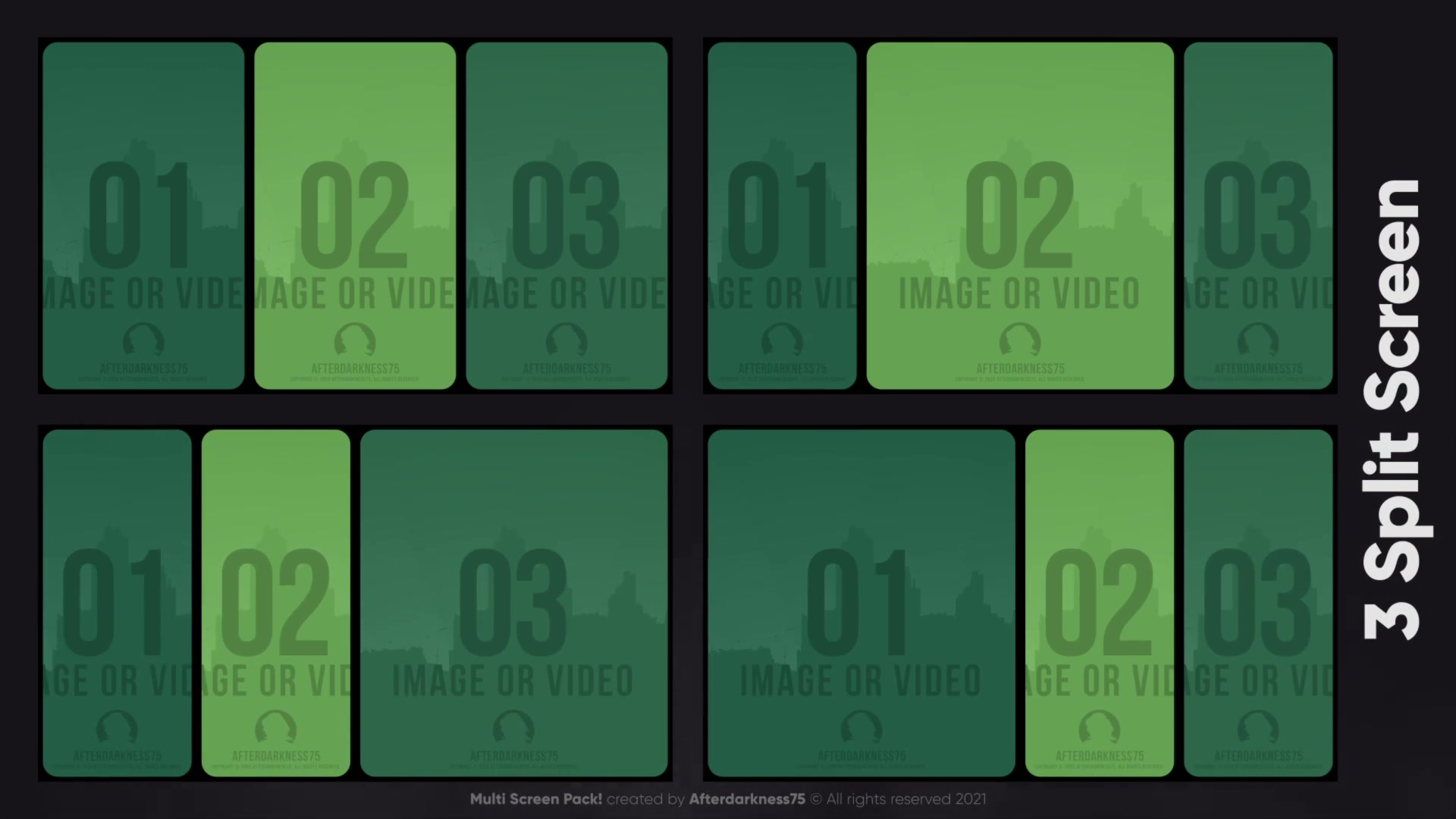 Multi Screen Pack Videohive 30408343 After Effects Image 7