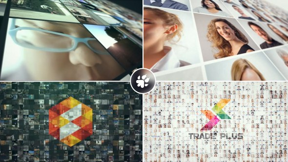 Multi Video Wall Logo - Download Videohive 19391075