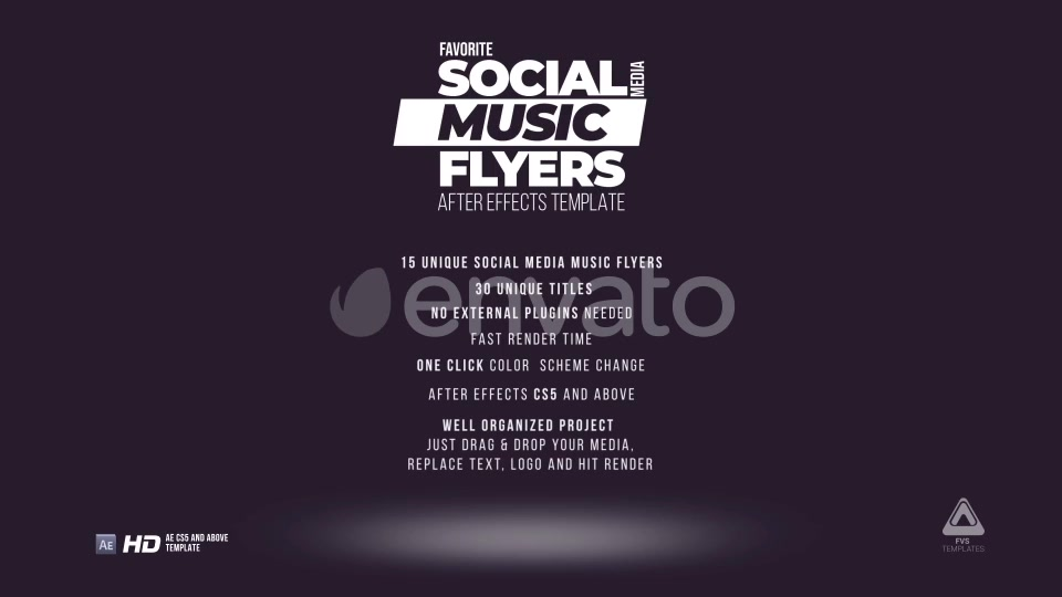 Music Action Flyer Pack - Download Videohive 21850291