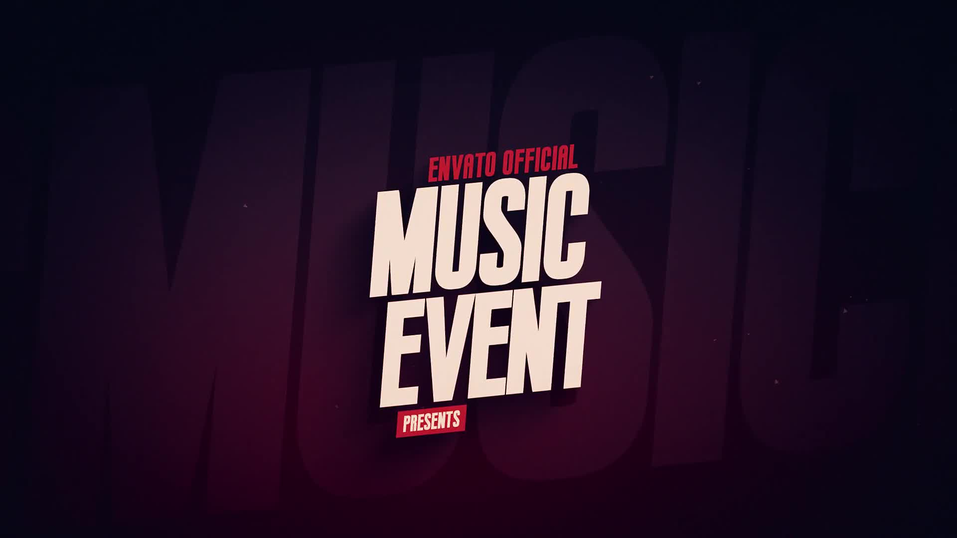 Music Event Promo - Download Videohive 21782112