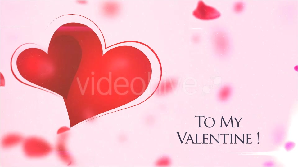 My Valentine Petals Logo Reveal - Download Videohive 14320352