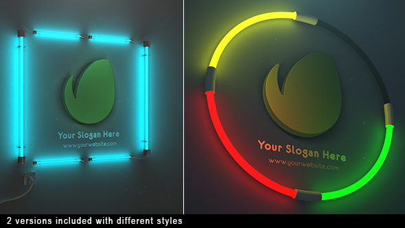 Neon Logo Reveal - Download Videohive 21253017
