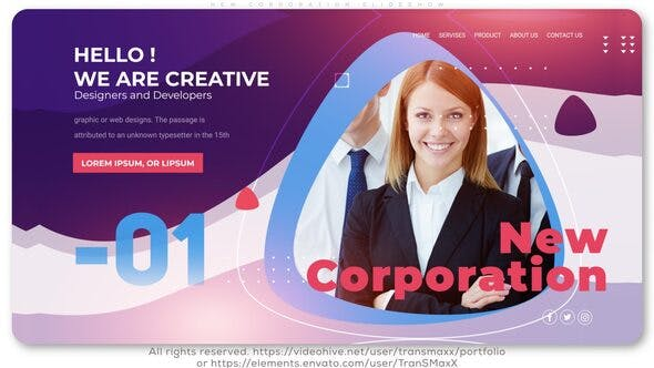 New Corporation Slideshow - Videohive Download 25594346
