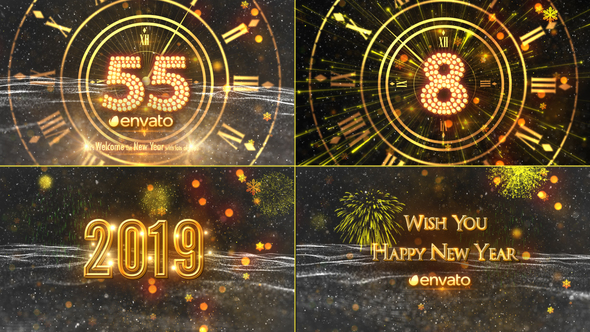 New Year Countdown 2019 - Download Videohive 21080880