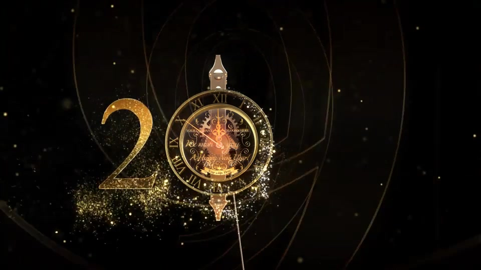 New Year Countdown Clock 2019 V2 - Download Videohive 6417745