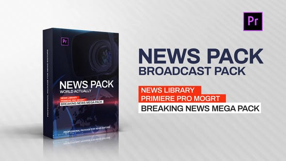 News Library Broadcast Pack - Videohive 23261869 Download