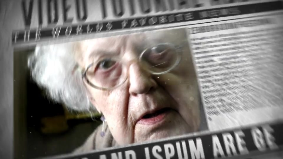 Newspaper Slideshow - Download Videohive 19255283