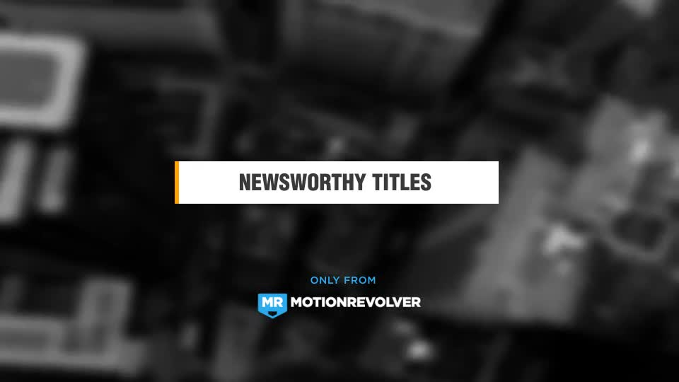 Newsworthy Titles and Lower Thirds - Download Videohive 19543168