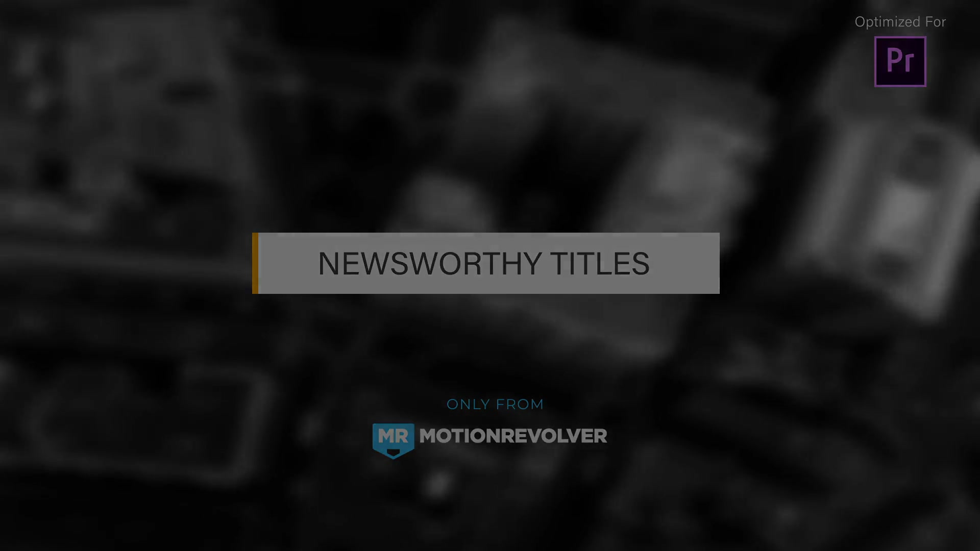 Newsworthy Titles | MOGRT for Premiere Pro - Download Videohive 21879677