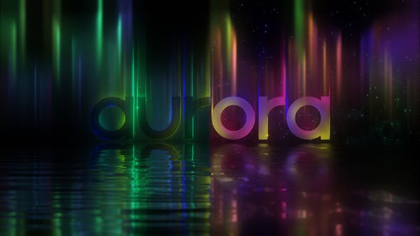 Northern Lights Logo - Videohive Download 25503770